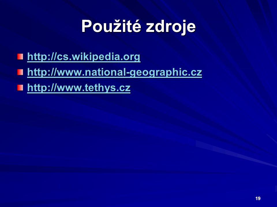 Použité zdroje http://cs.wikipedia.org