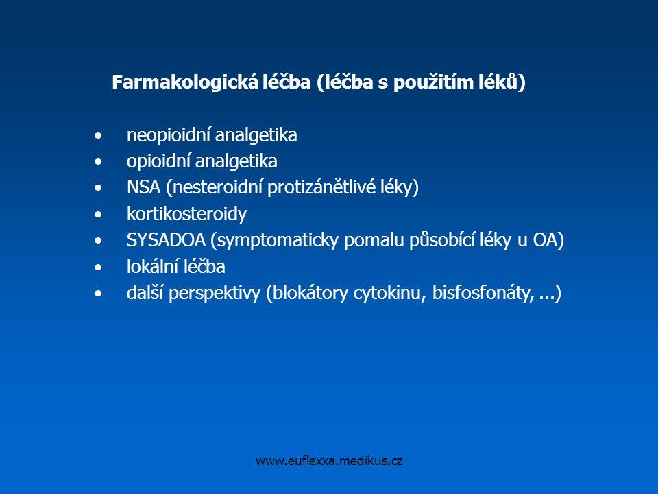 Farmakologická léčba (léčba s použitím léků)