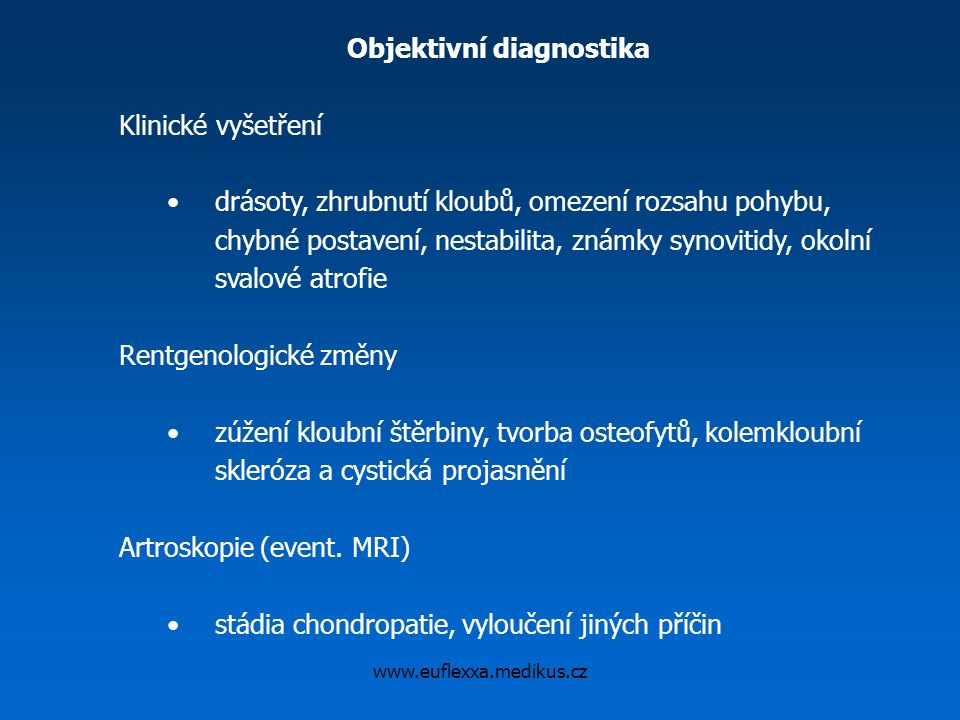 Objektivní diagnostika