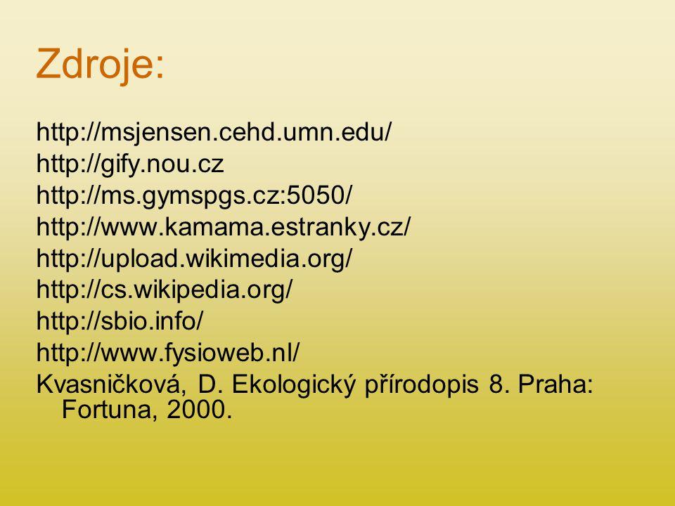 Zdroje: http://msjensen.cehd.umn.edu/ http://gify.nou.cz
