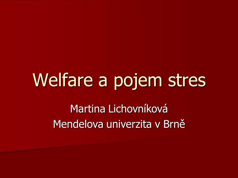 Martina Lichovníková Mendelova univerzita v Brně