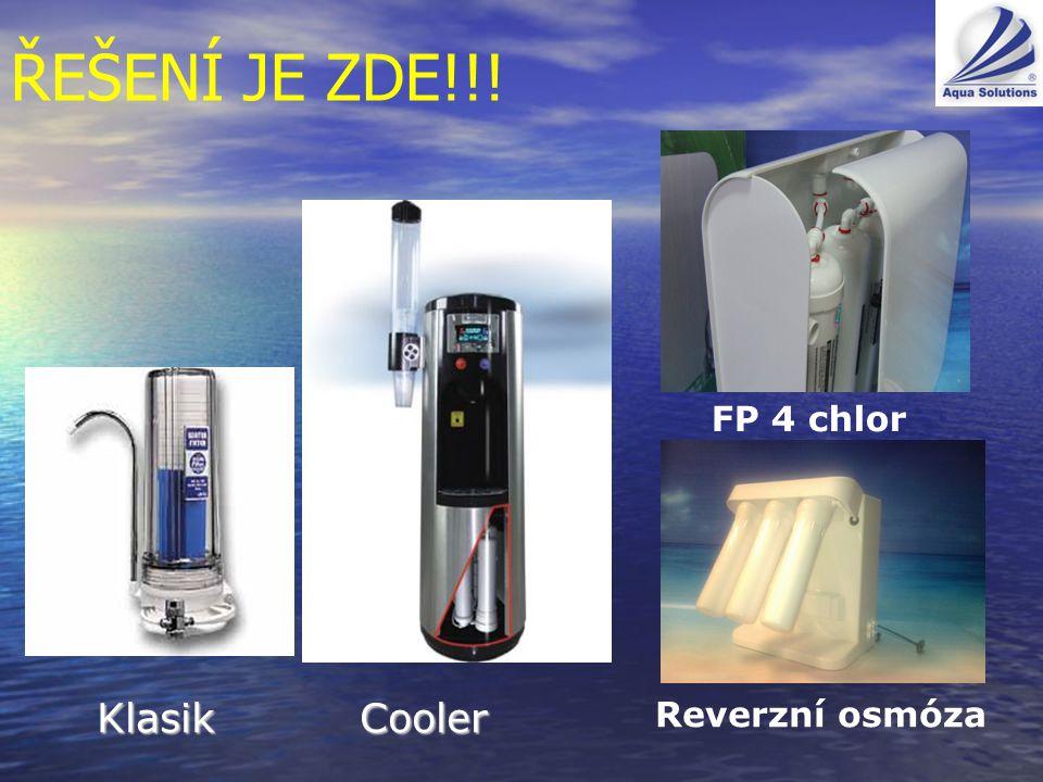 ŘEŠENÍ JE ZDE!!! FP 4 chlor Klasik Cooler Reverzní osmóza