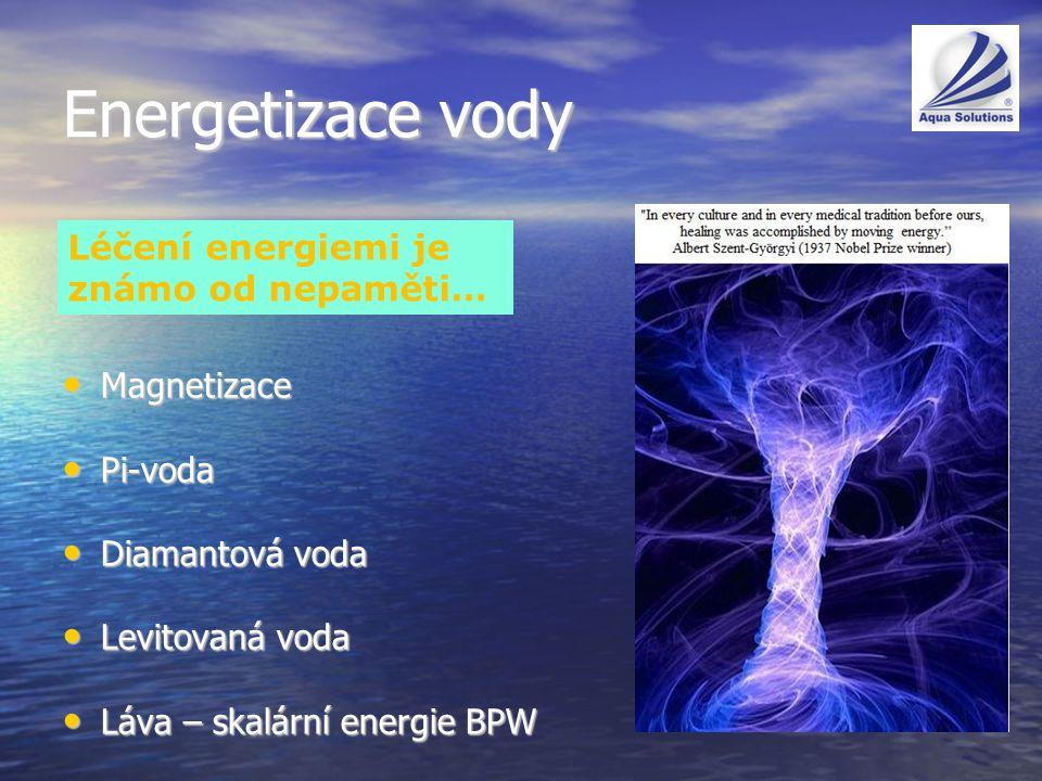 Energetizace vody Léčení energiemi je známo od nepaměti… Magnetizace