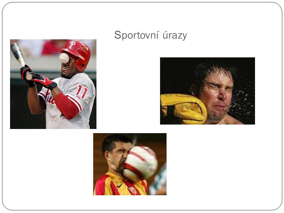 Sportovní úrazy