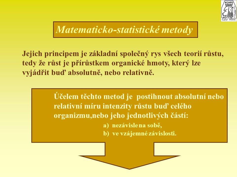 Matematicko-statistické metody