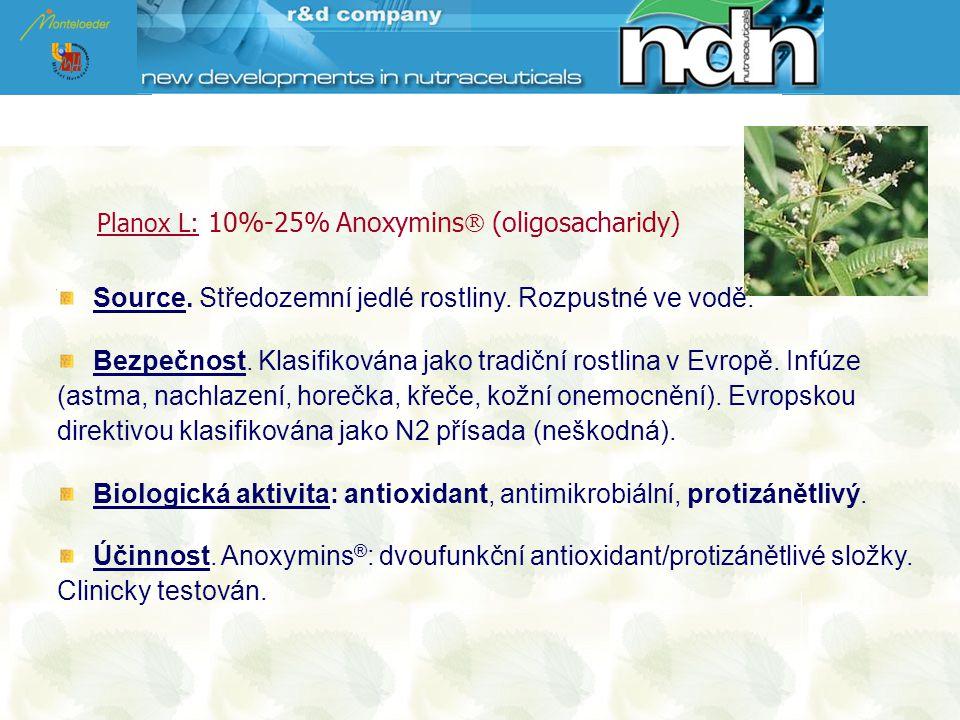 Source. Středozemní jedlé rostliny. Rozpustné ve vodě.
