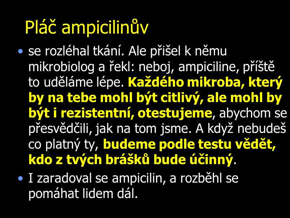 Pláč ampicilinův