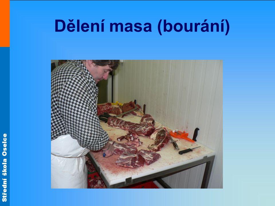 Dělení masa (bourání)