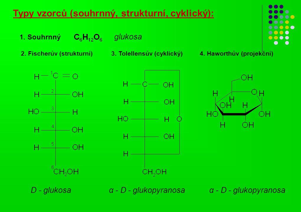 Typy vzorců (souhrnný, strukturní, cyklický):
