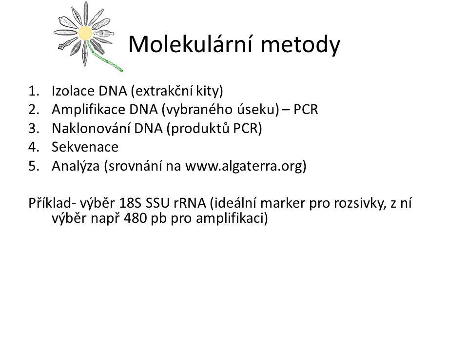 Molekulární metody Izolace DNA (extrakční kity)