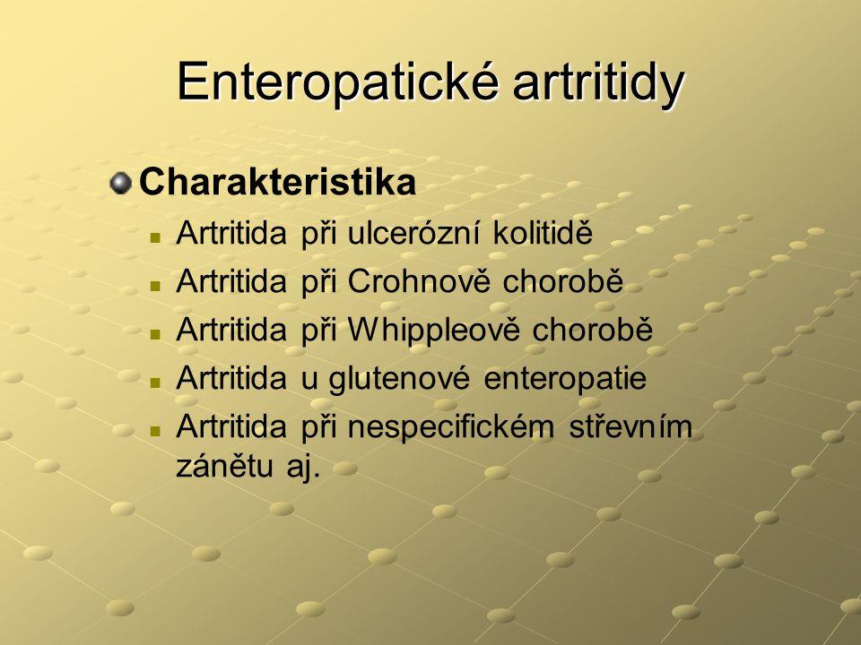Enteropatické artritidy