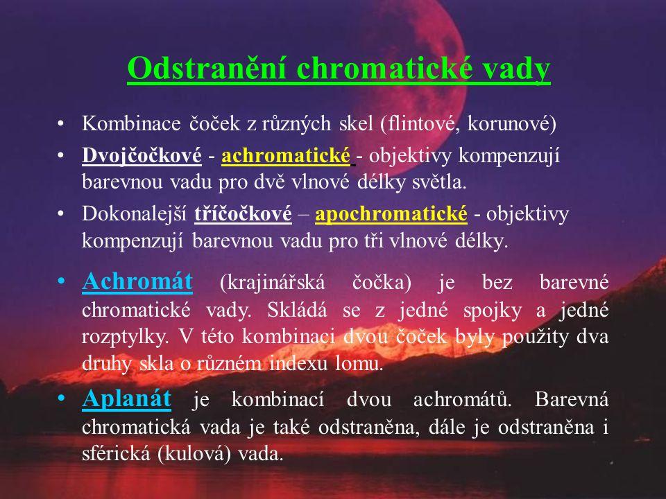 Odstranění chromatické vady