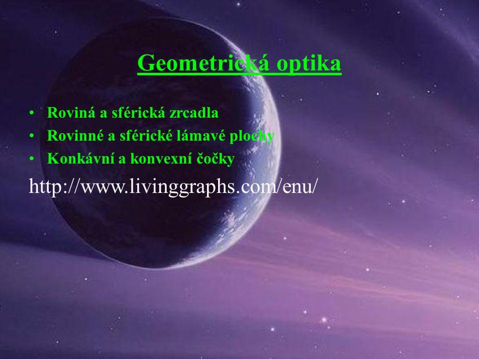 Geometrická optika http://www.livinggraphs.com/enu/