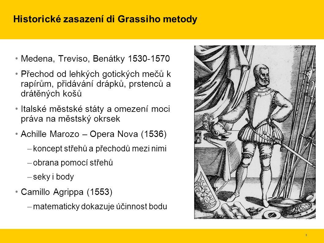 Historické zasazení di Grassiho metody