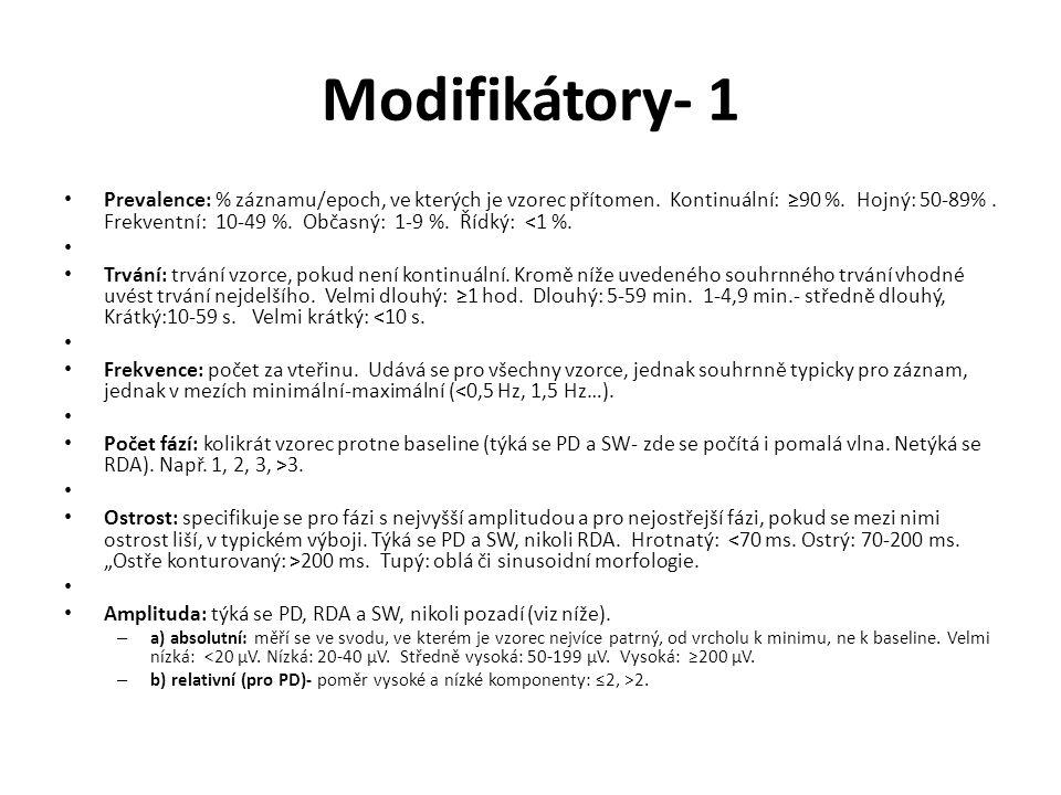 Modifikátory- 1