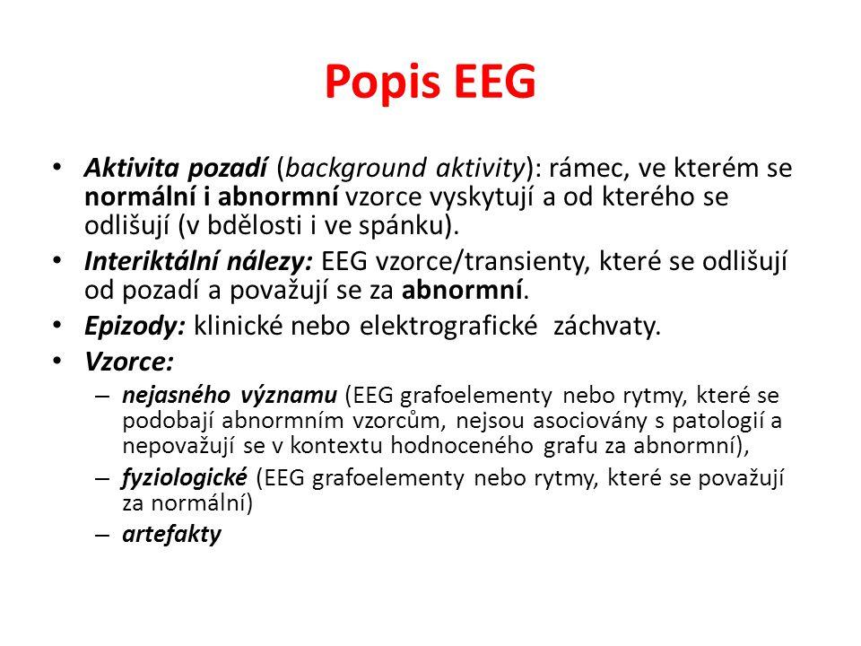 Popis EEG