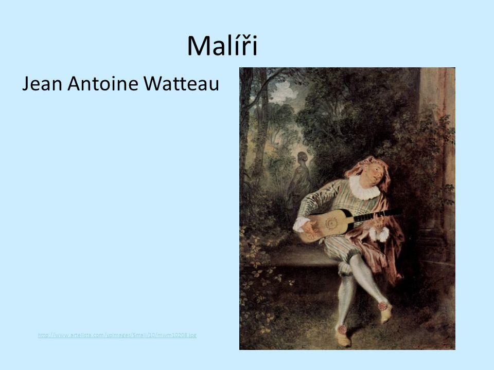 Malíři Jean Antoine Watteau