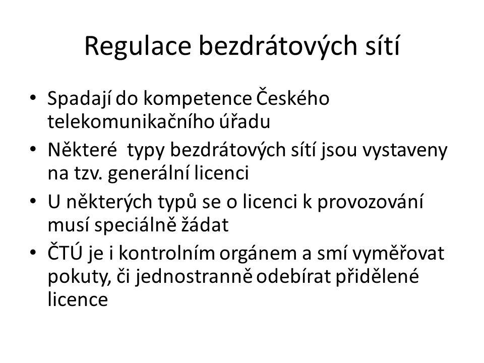 Regulace bezdrátových sítí