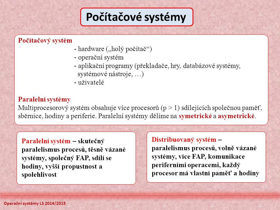 """Počítačové systémy Počítačový systém - hardware (""""holý počítač )"""