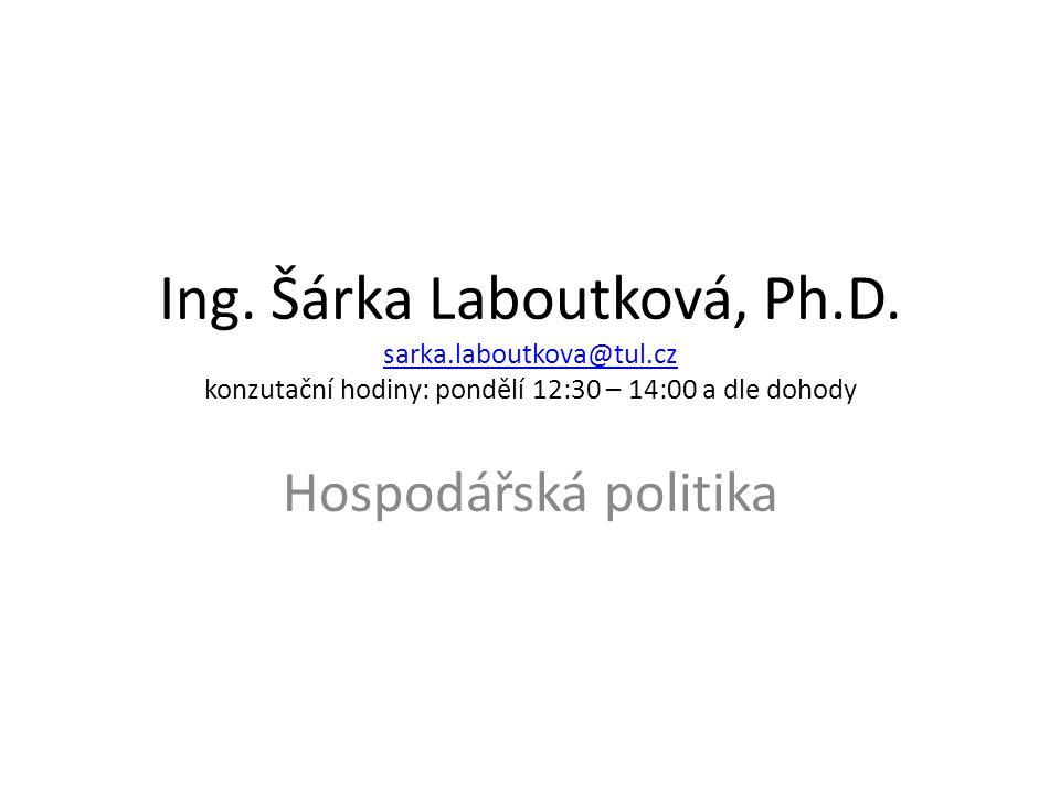 Ing. Šárka Laboutková, Ph. D. sarka. laboutkova@tul