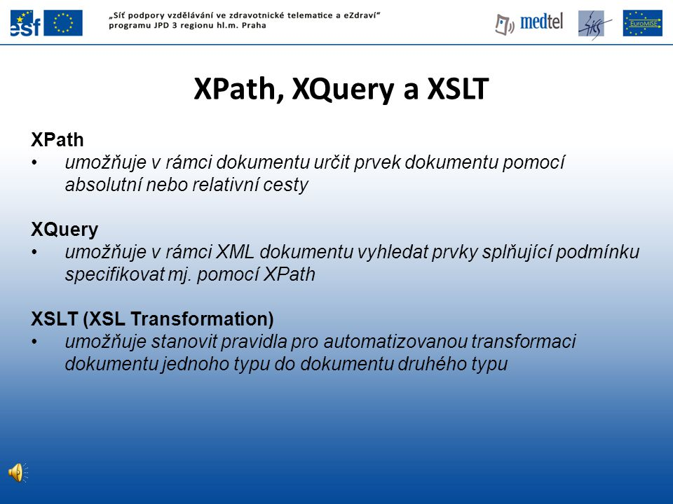 XPath, XQuery a XSLT XPath