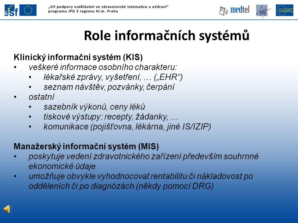 Role informačních systémů