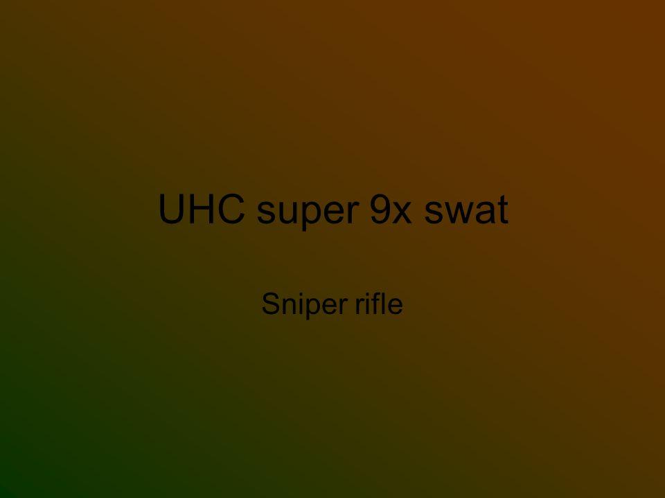 UHC super 9x swat Sniper rifle