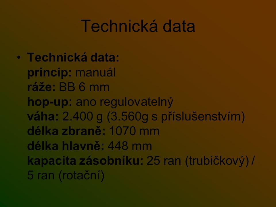 Technická data
