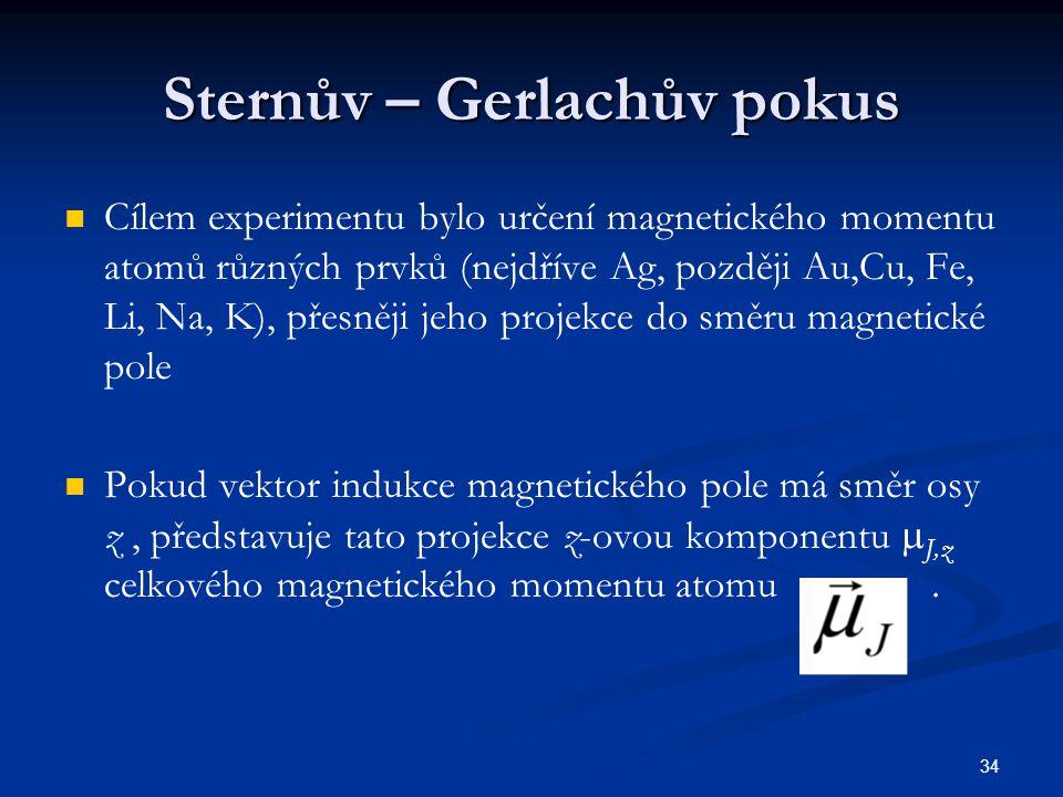 Sternův – Gerlachův pokus