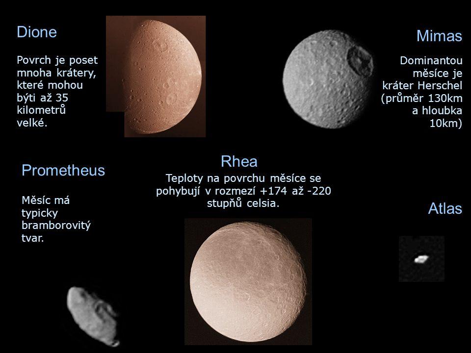 Dione Mimas Rhea Prometheus Atlas