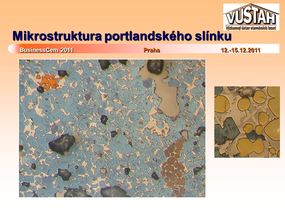 Mikrostruktura portlandského slínku