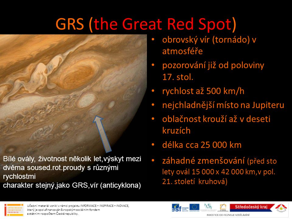 GRS (the Great Red Spot)