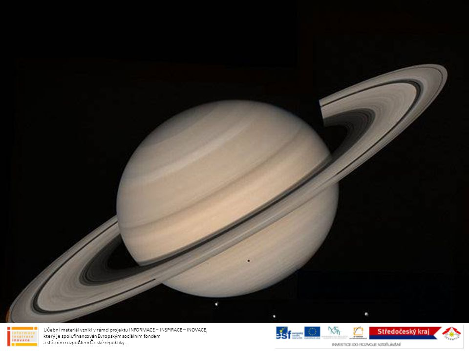Další PLYNNOU PLANETOU – OBREM naší sluneční soustavy je……..