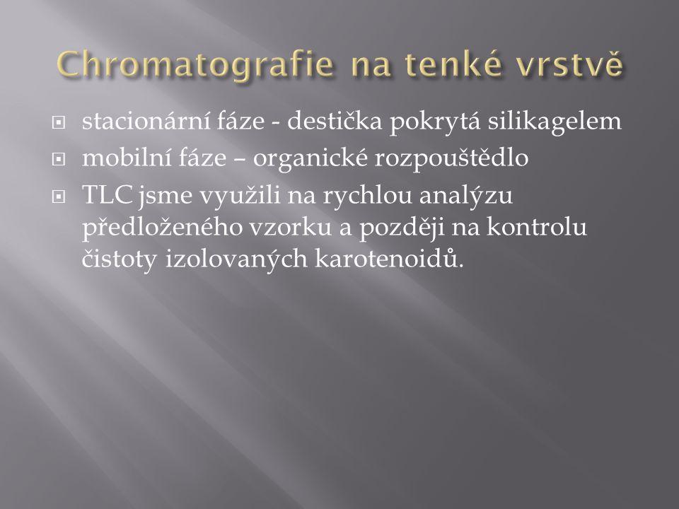 Chromatografie na tenké vrstvě