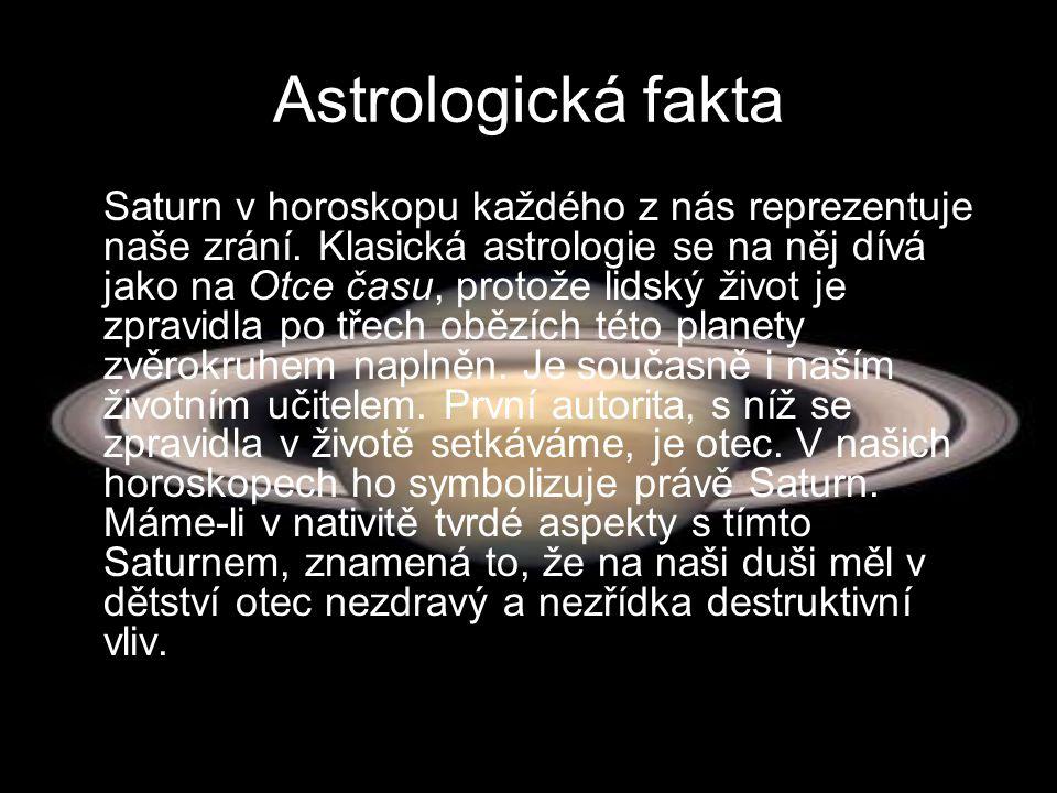 Astrologická fakta