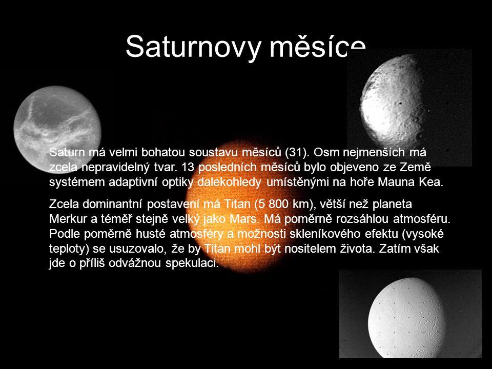 Saturnovy měsíce