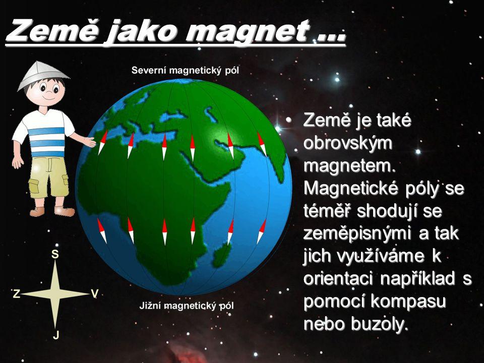 Země jako magnet …