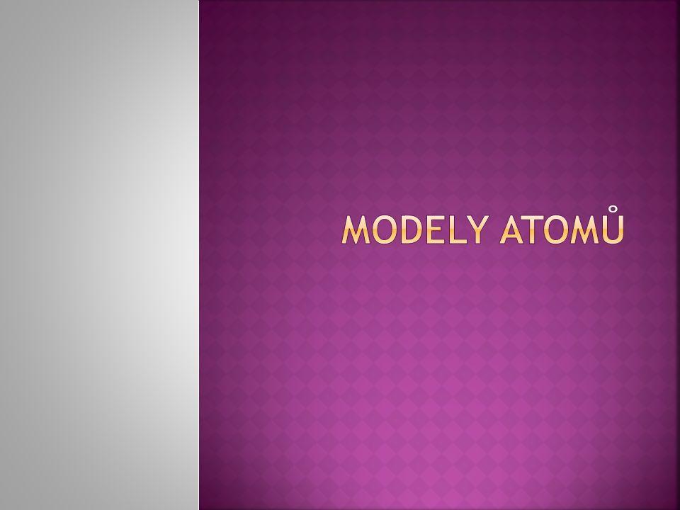 Modely atomů