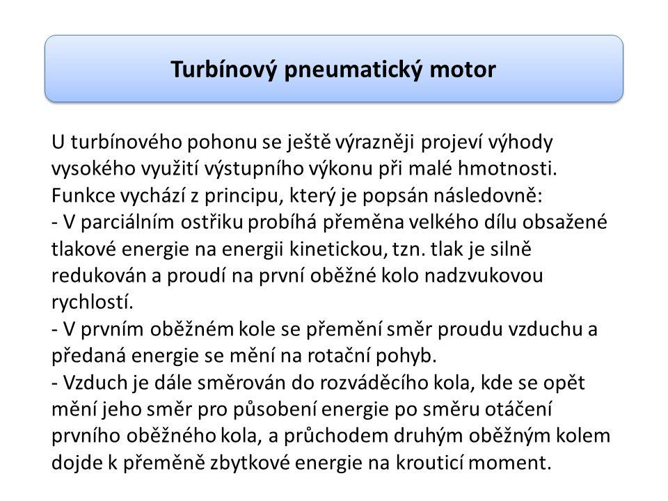 Turbínový pneumatický motor