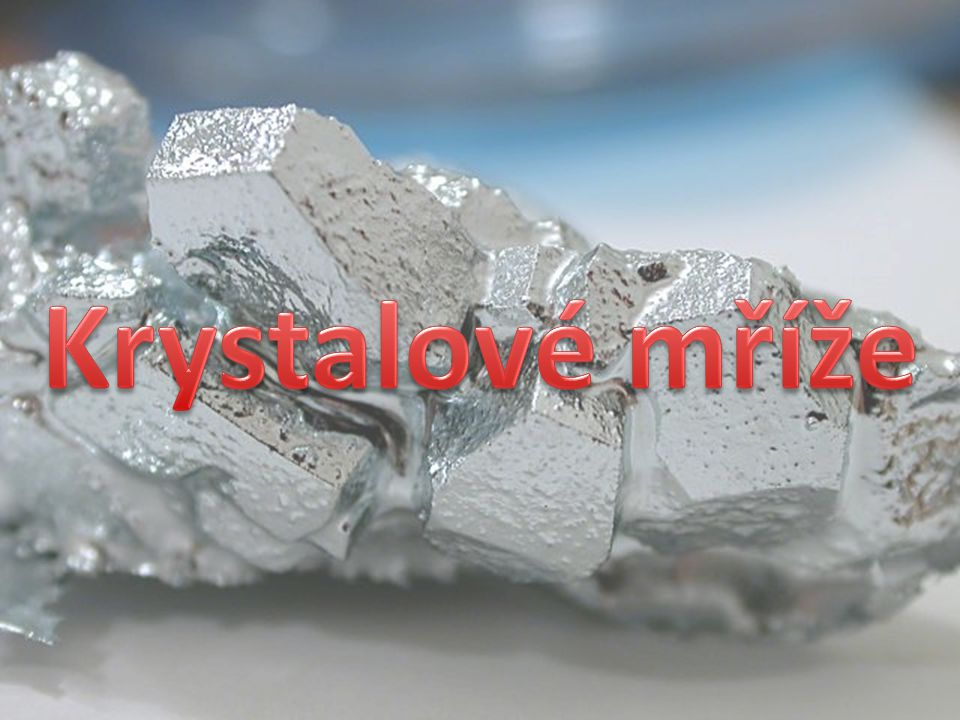Krystalové mříže