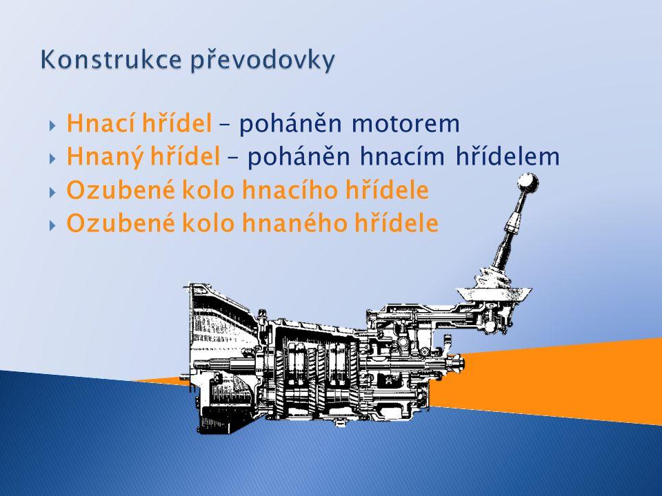 Konstrukce převodovky