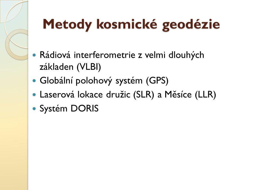 Metody kosmické geodézie