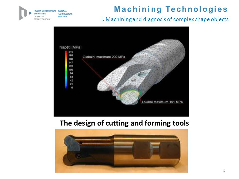 The design of cutting and forming tools