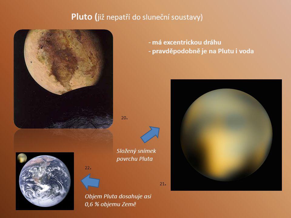 Pluto (již nepatří do sluneční soustavy)