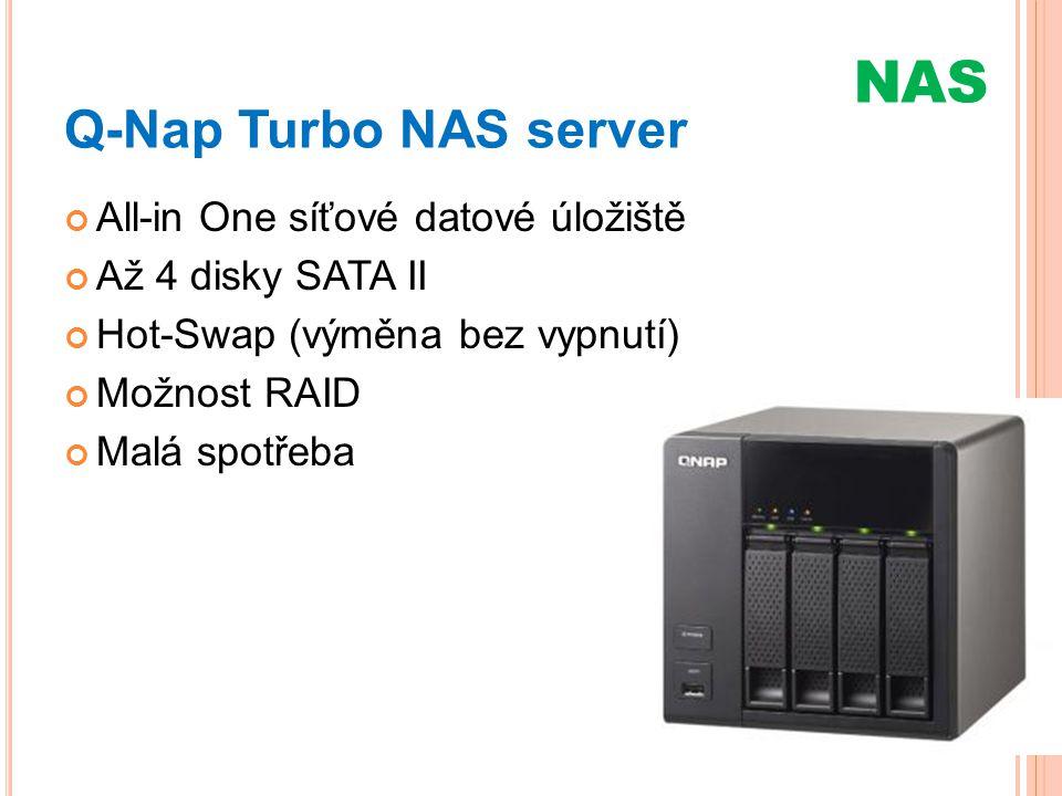 NAS Q-Nap Turbo NAS server All-in One síťové datové úložiště