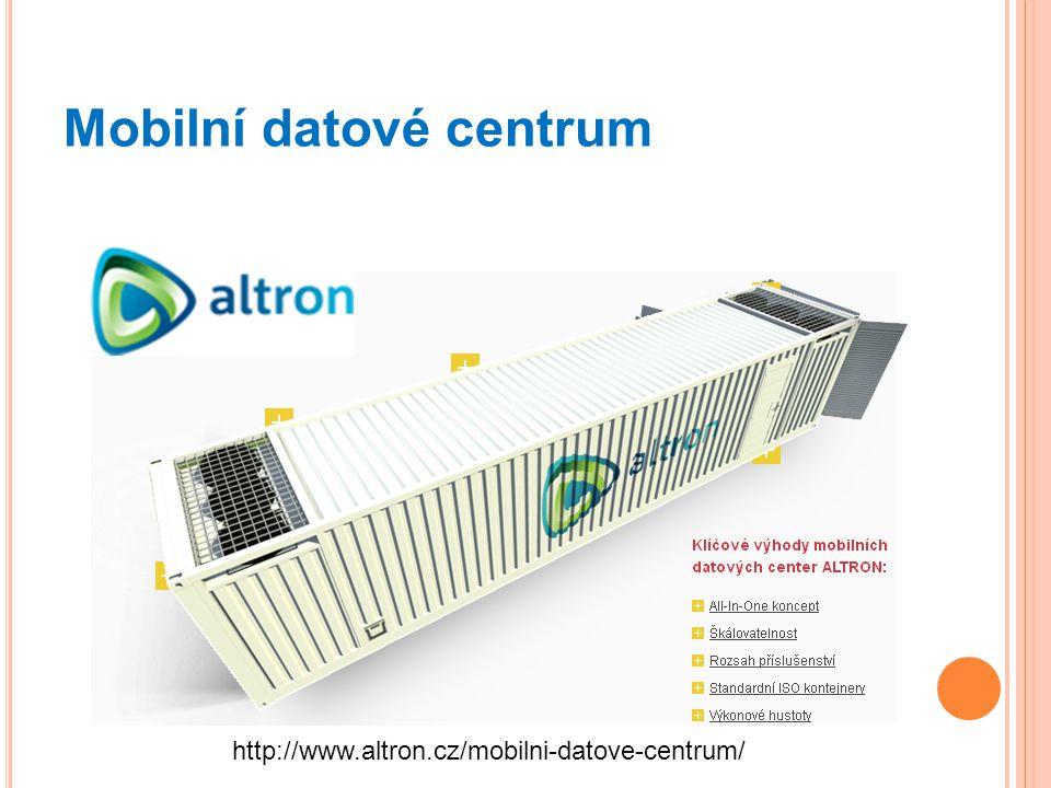 Mobilní datové centrum