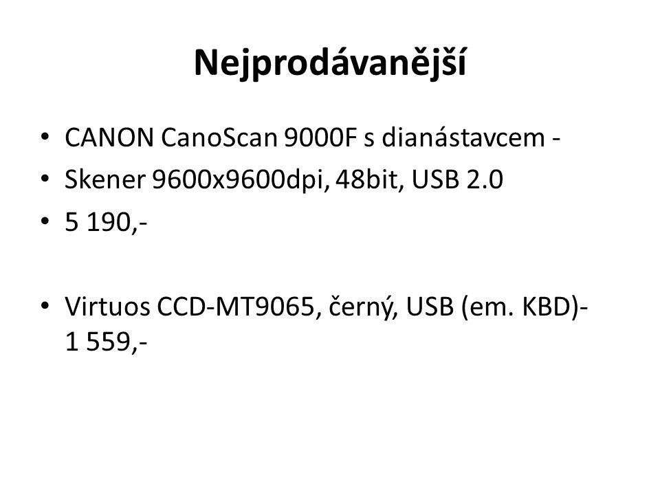 Nejprodávanější CANON CanoScan 9000F s dianástavcem -