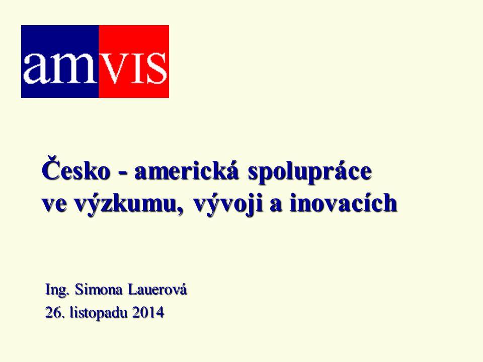 Česko - americká spolupráce ve výzkumu, vývoji a inovacích