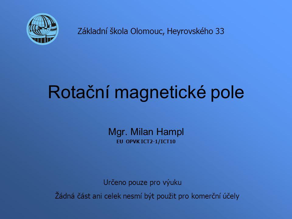 Rotační magnetické pole