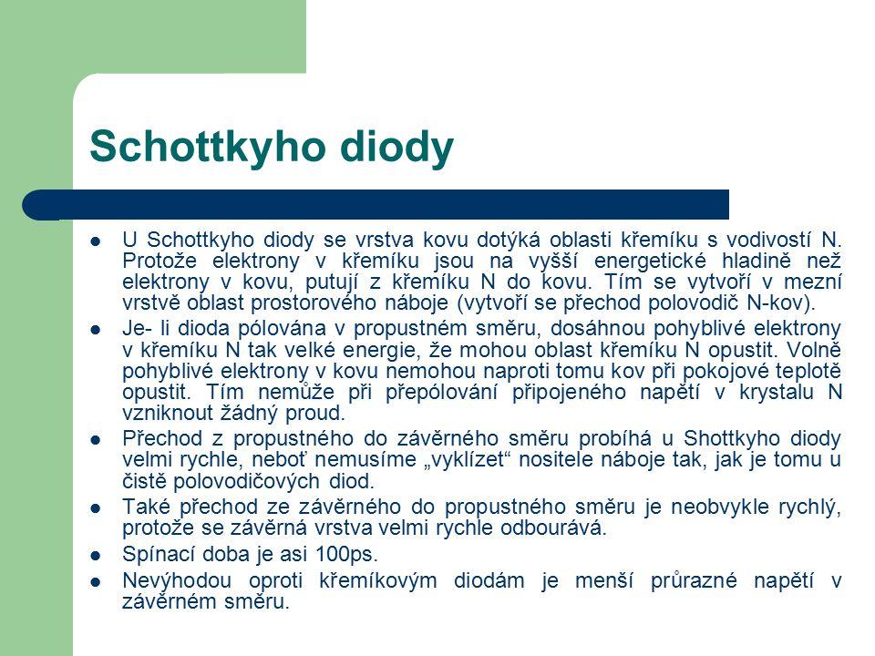 Schottkyho diody